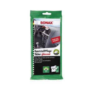 Sonax Műanyagápoló kendő 10 db, autóápolási termékek