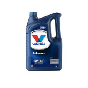 Valvoline All-Climate Diesel 5W-40 5liter, motorolaj, kenőanyag
