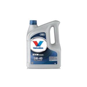 Valvoline-SynPower-5W-40 motorolaj