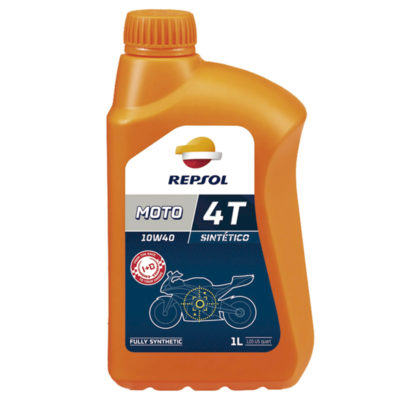 Repsol Moto Sintetico 4T 10W-40 1 liter, motorkerékpárolaj