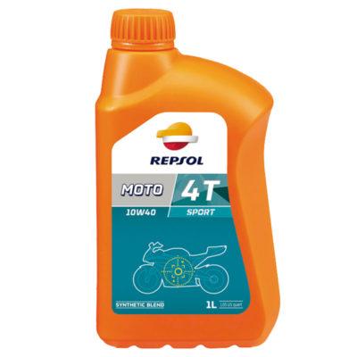 Repsol Moto Sport 4T 10W-40 1 liter, motorkerékpárolaj