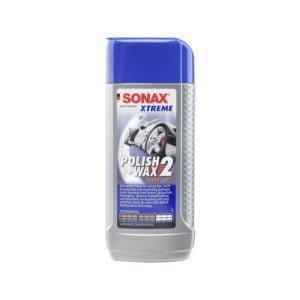 Sonax Polir és Wax Xtreme2 250 ml, autóápolási termékek