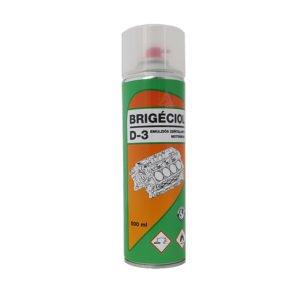 brigéciol, motortisztító spray